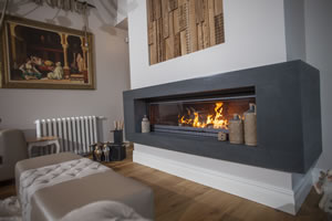 Modern Fireplace Surrounds - M 179 B