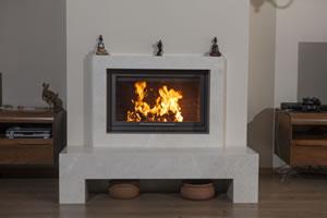 Modern Fireplace Surrounds - M 182 A