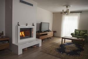 Modern Fireplace Surrounds - M 182 B