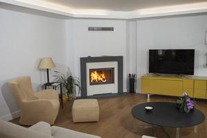 Modern Fireplace Surrounds - M 184 A
