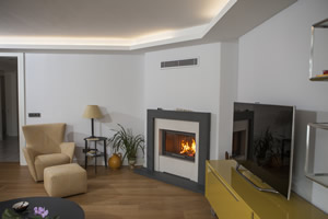 Modern Fireplace Surrounds - M 184 B
