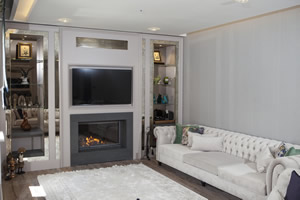 Modern Fireplace Surrounds - M 185 A