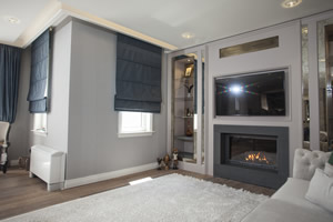 Modern Fireplace Surrounds - M 185 B