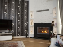 Modern Fireplace Surrounds - M 187 C