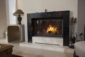 Modern Fireplace Surrounds - M 190 B
