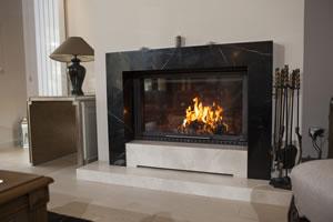 Modern Fireplace Surrounds - M 190 B