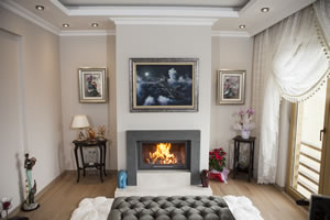 Modern Fireplace Surrounds - M 192