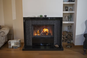Modern Fireplace Surrounds - M 193 B