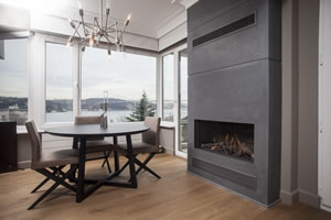 Modern Fireplace Surrounds - M 194 B