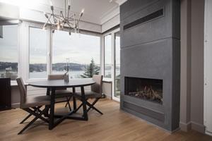 Modern Fireplace Surrounds - M 194 B