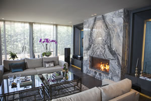 Modern Fireplace Surrounds - M 195 A