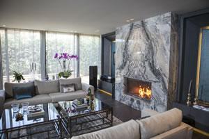 Modern Fireplace Surrounds - M 195 A