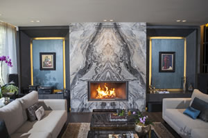 Modern Fireplace Surrounds - M 195 B