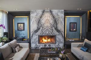 Modern Fireplace Surrounds - M 195 B