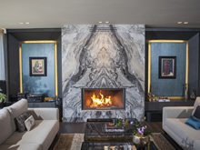 Modern Fireplace Surrounds - M 195 C