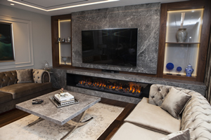 Modern Fireplace Surrounds - M 196 A