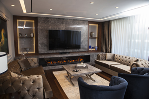 Modern Fireplace Surrounds - M 196 B