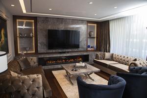 Modern Fireplace Surrounds - M 196 B
