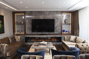 Modern Fireplace Surrounds - M 196