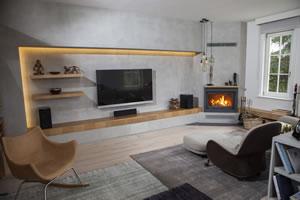 Modern Fireplace Surrounds - M 198 A