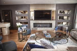 Modern Fireplace Surrounds - M 199 B