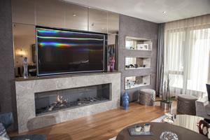 Modern Fireplace Surrounds - M 199