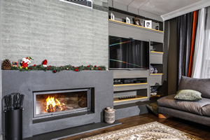 Modern Fireplace Surrounds - M 201 A