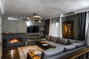 Modern Fireplace Surrounds - M 201 B