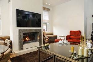 Modern Fireplace Surrounds - M 202 A