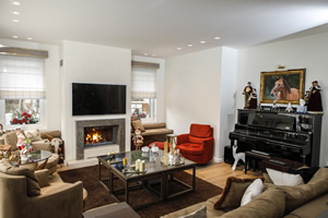 Modern Fireplace Surrounds - M 202 B