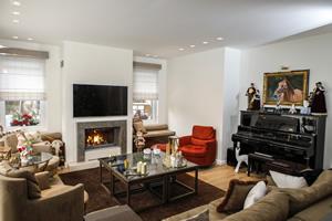 Modern Fireplace Surrounds - M 202 B