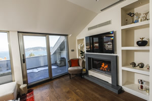 Modern Fireplace Surrounds - M 203 B