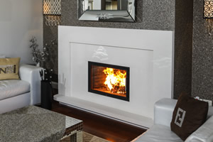 Modern Fireplace Surrounds - M 204 A