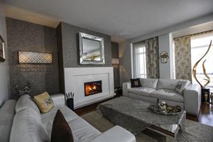 Modern Fireplace Surrounds - M 204 B