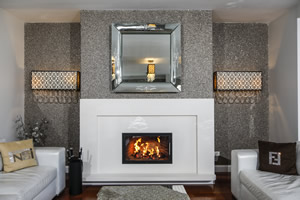 Modern Fireplace Surrounds - M 204