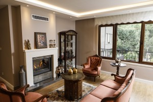 Modern Fireplace Surrounds - M 206 B