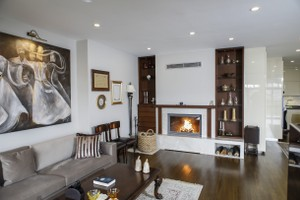 Modern Fireplace Surrounds - M 208 A