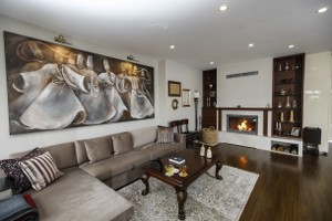 Modern Fireplace Surrounds - M 208 B
