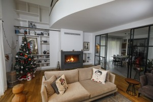 Modern Fireplace Surrounds - M 209 B
