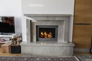 Modern Fireplace Surrounds - M 210