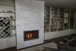 Modern Fireplace Surrounds - M 212 A