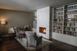 Modern Fireplace Surrounds - M 212 B