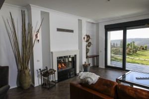 Modern Fireplace Surrounds - M 214 B