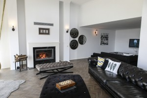 Modern Fireplace Surrounds - M 215 A