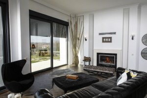 Modern Fireplace Surrounds - M 215 B