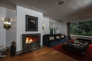 Modern Fireplace Surrounds - M 216 A