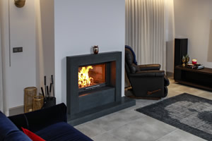 Modern Fireplace Surrounds - M 217 A