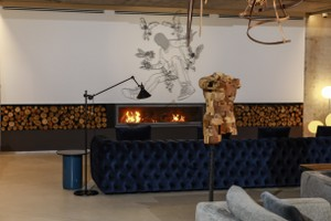 Modern Fireplace Surrounds - M 218 E