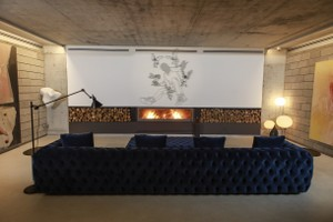 Modern Fireplace Surrounds - M 218