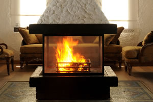 Central Fireplace Surrounds - O 102